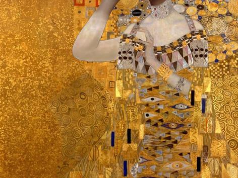 Digitális karikatúra - Klimt