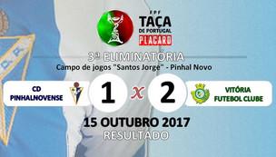 Taça de Portugal - CD Pinhalnovense vs Vitória FC