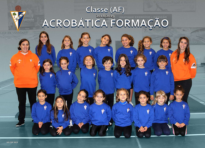 Classe Acrobática Formação época 2018/2019