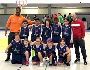 Basquetebol CDP –Estreia dos Sub 10 no Grupo B