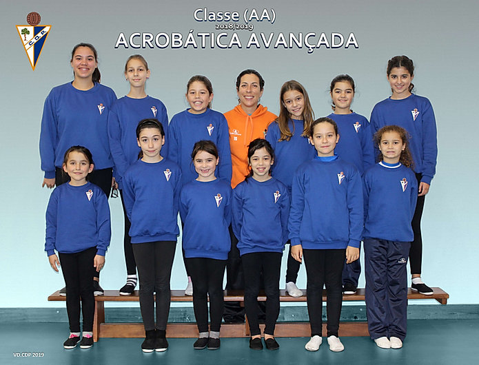 Classe Acrobática Avançada época 2018/2019