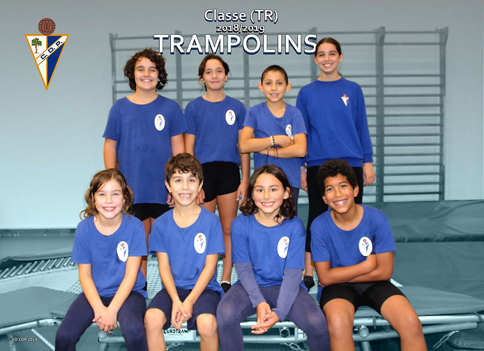 Classe Trampolins - época 2018/2019