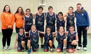Basquetebol –Sub 12 Mistos – A saga de vitórias continua…