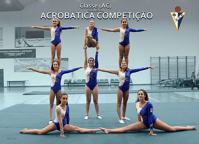 Classe Acrobática Competição época 2018/2019