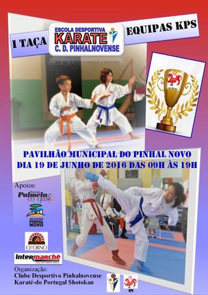 1ª TAÇA EQUIPAS KPS - Escola Desportiva Karate C.D.Pinhalnovense