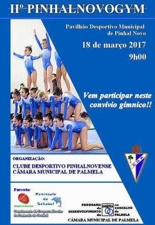 II PINHALNOVOGYM: Encontro reúne três centenas e meia de ginastas em Pinhal Novo
