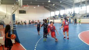 Basquetebol do Clube Desportivo Pinhalnovense – Mini basquete em ação