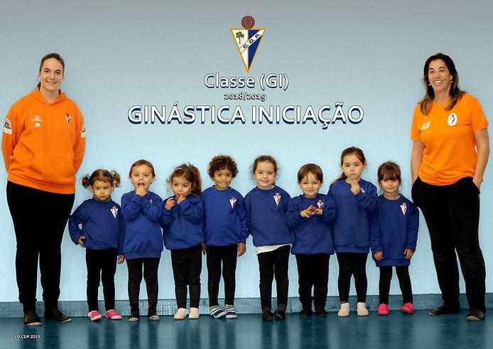Classe Ginástica Iniciação época 2018/2019