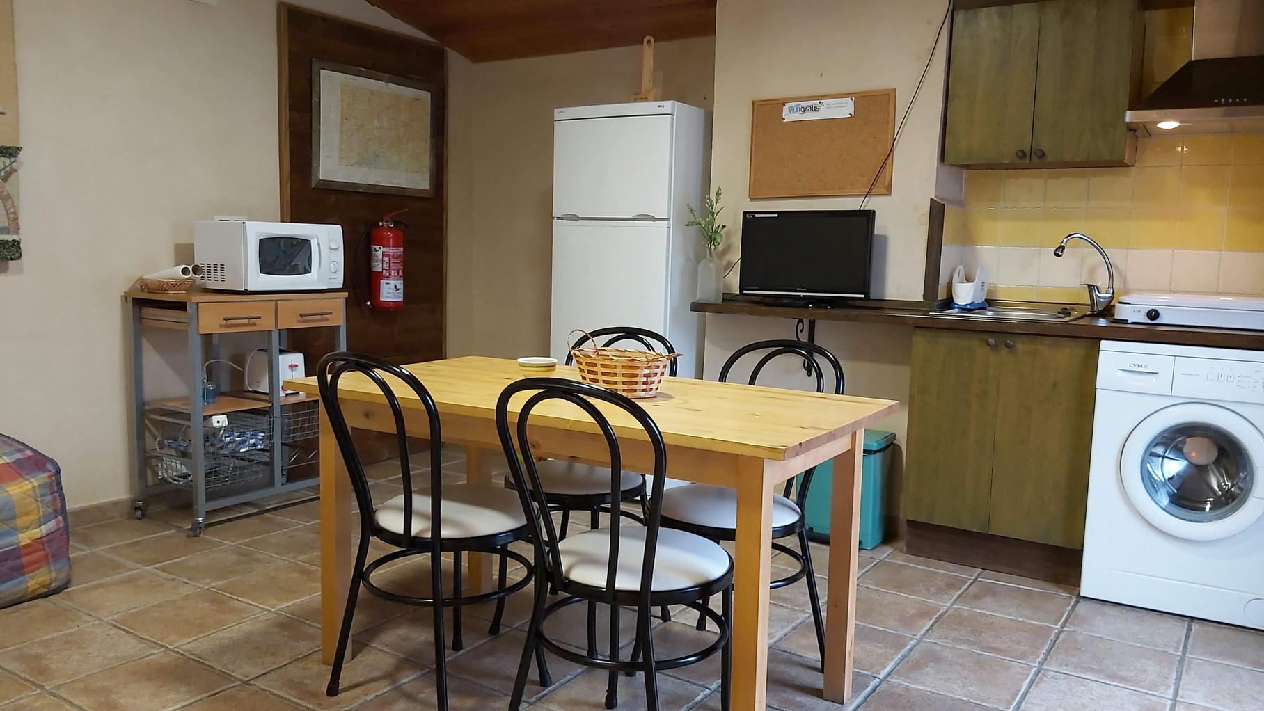 Cocina Apartamento Rural La Torre
