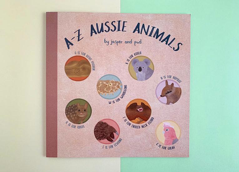 'A-Z Aussie Animals' Illustrated Book / Zine