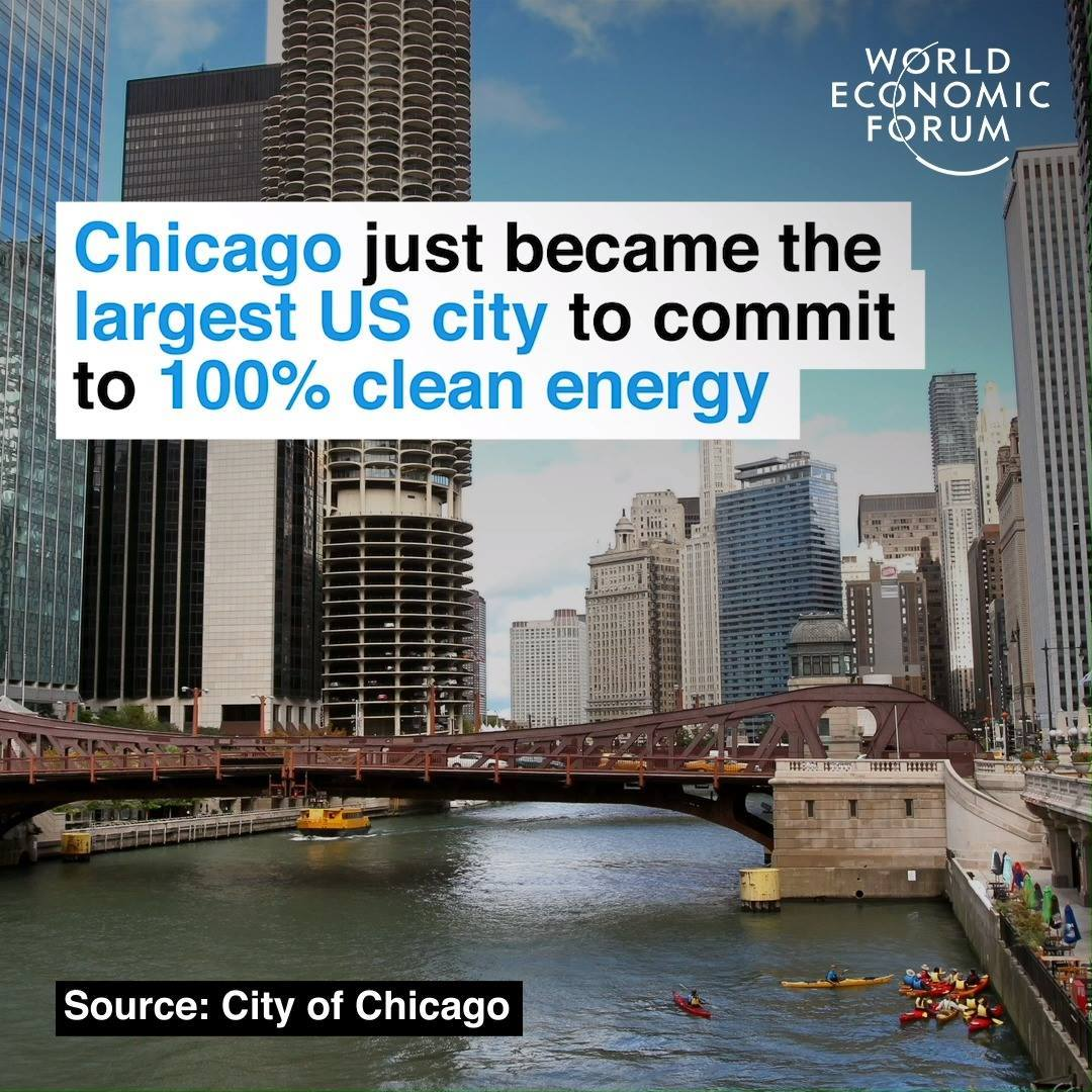 Chicago Just Became the Largest US City to Commit to 100% Clean Energy