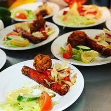 There's nothing better than our very own Mix Starter #shishkebab #onionbhaji #samosa #chickentikka
