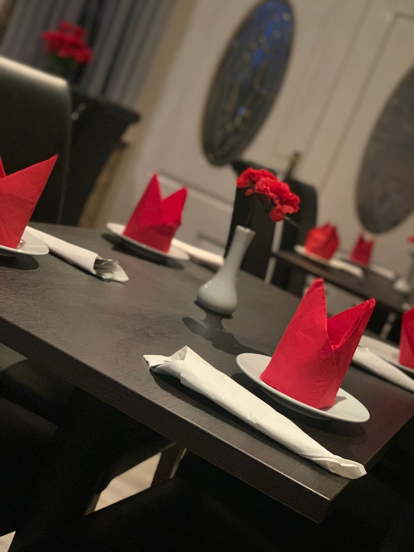 Book a table via our website or call us on 07563913547