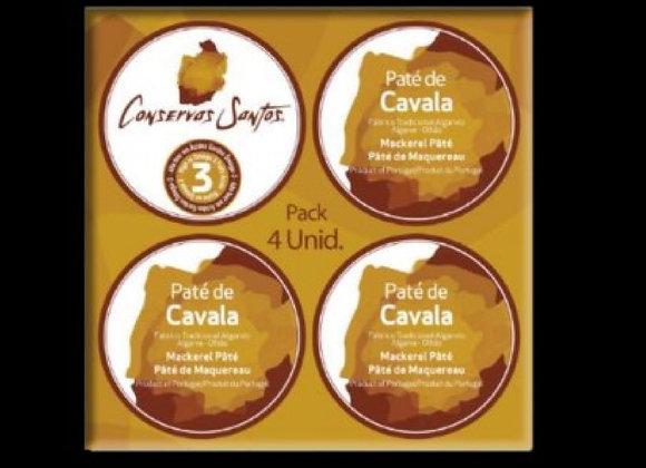 Paté de Cavala Pack 4 Unidades