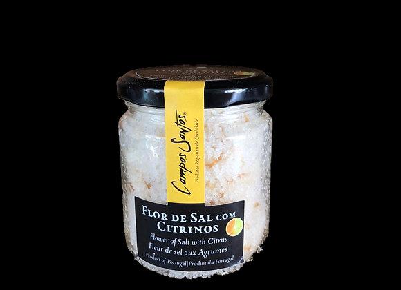 Flor de Sal com Citrinos