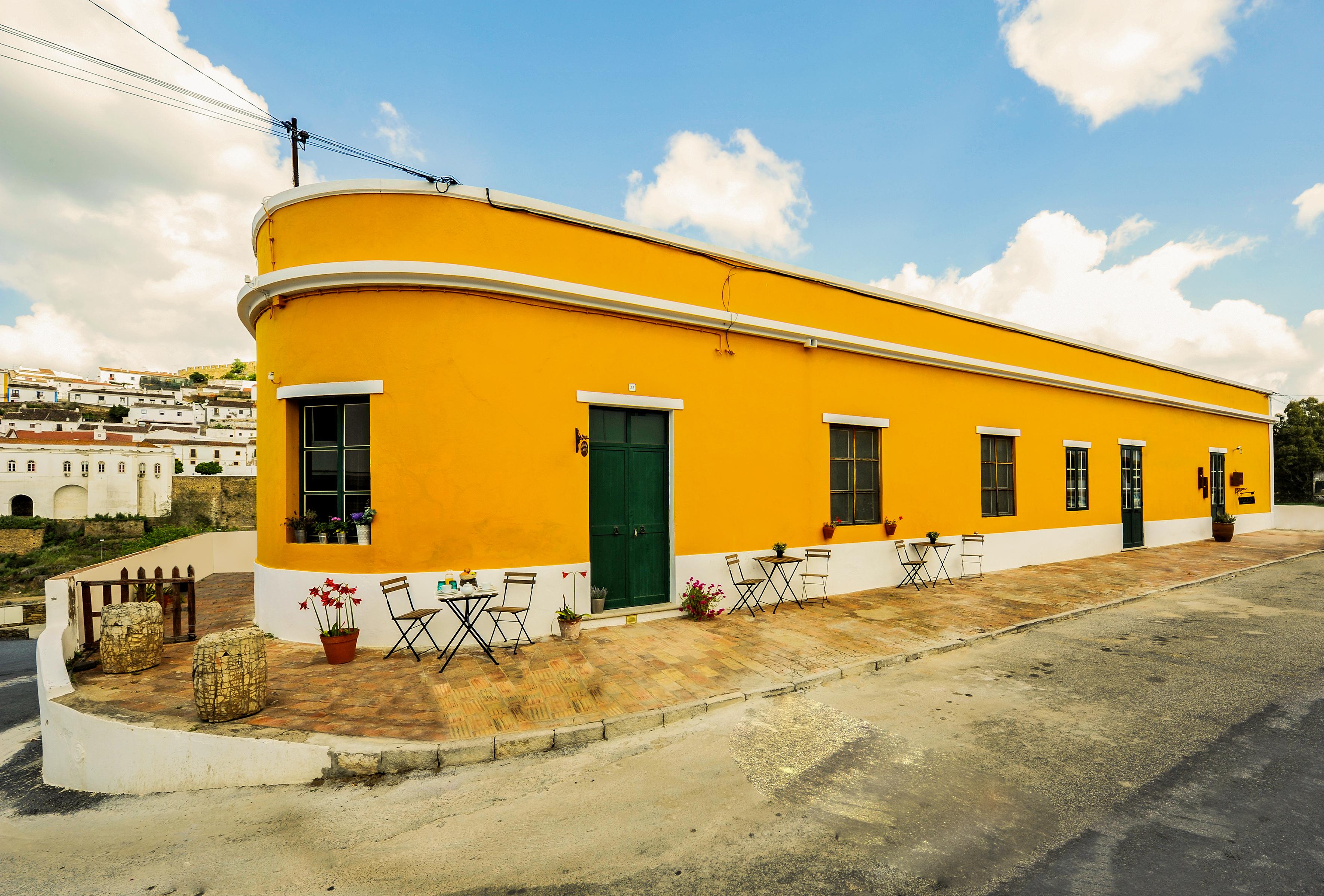 Casa Amarela -fachada