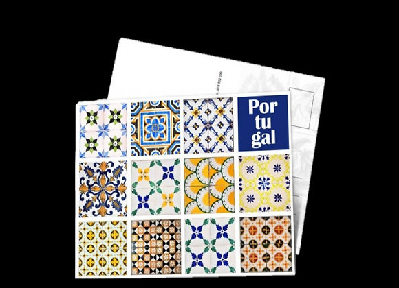 Postal Azulejos