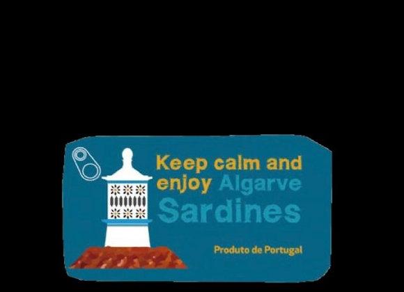 Keep Calm Sardinhas em Azeite