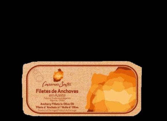 Filetes de Anchovas em Azeite
