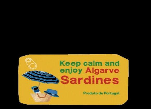 Keep Calm Sardinhas Limão