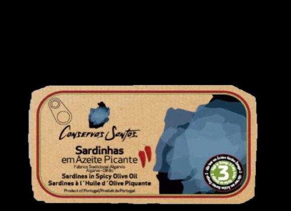 Sardinhas em Azeite Picante
