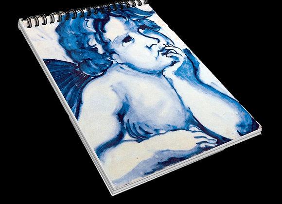 Bloco A7 Azulejo Anjo