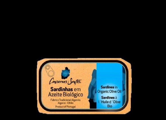 Sardinhas em Azeite Biológico