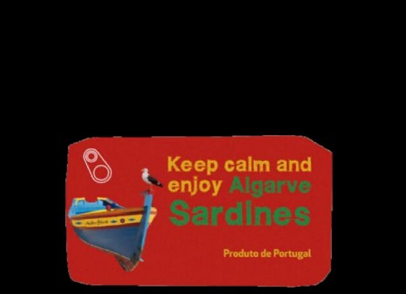 Keep Calm Sardinhas Tomate