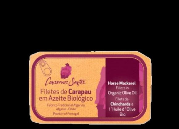 Filetes de Carapau em Azeite Biológico