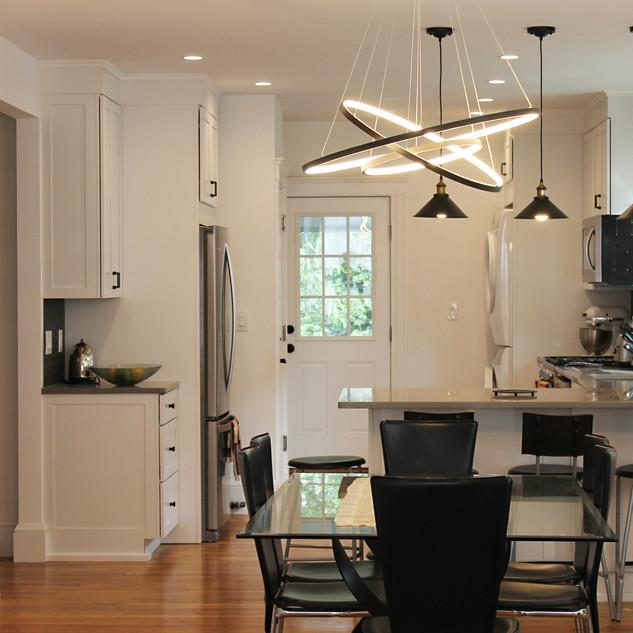 Belmont apartment renovation