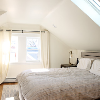 Belmont attic and dormers