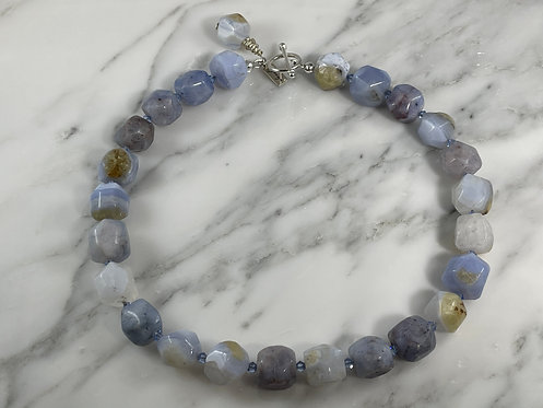 Lace Agate Necklace