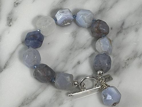 Lace Agate Bracelet