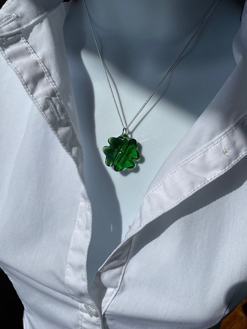 Swarovski Lucky Clover Necklace