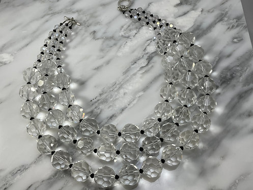 Chunky Crystal Necklace