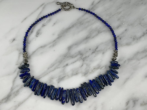 Sodalite and Lapis Necklace