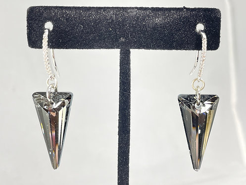 Swarovski Spike Earrings