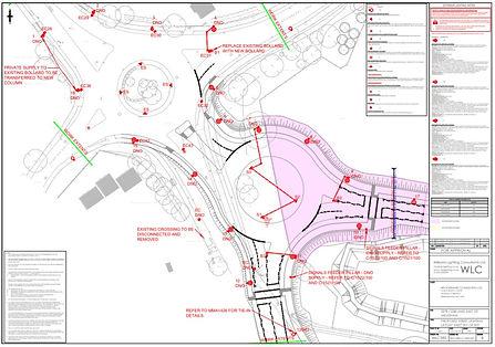 S278 Street lighting design East Melksha