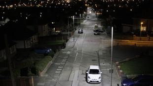 'How far apart should street lights be?'