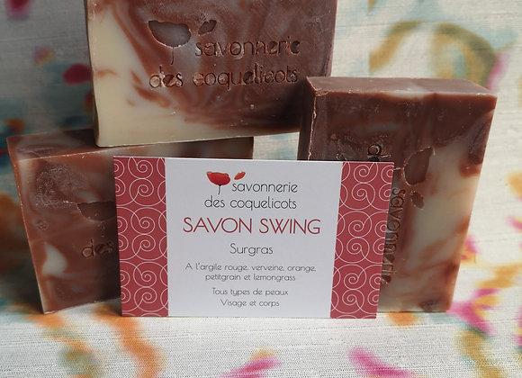 Savon Swing 100g -Verveine, orange, peti grain et lemongrass