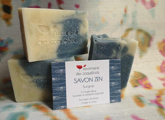 Savon Zen 100g - Lavandin et petit grain bigarade