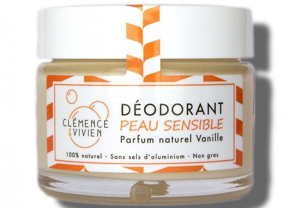 Déodorant Clémence et Vivien 50g VANILLE