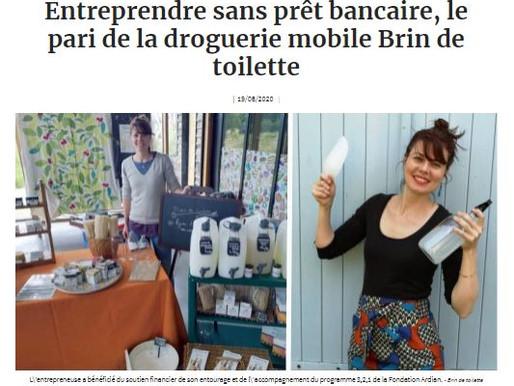 Brin de toilette s'offre un joli écho dans la presse