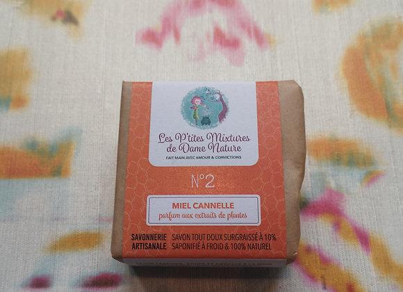 Savon n°2 emballé P'tites mixtures de Dame Nature 100g