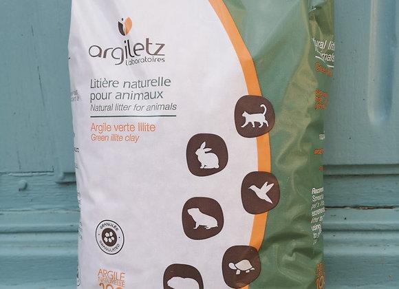 Litière à l'argile verte sac de 3kg