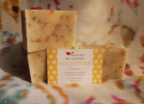 Savon Toudou 100g - Calendula, sans huiles essentielles