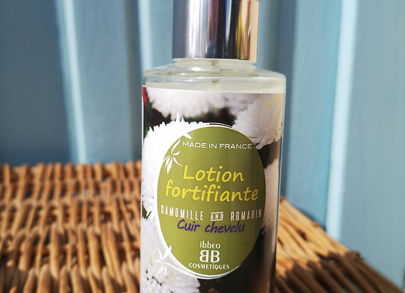 Lotion cheveux fortifiante camomille et romarin 100ml