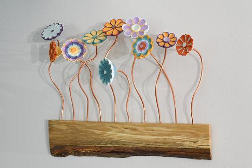 "Spring Flowers - 21"" X 18"""