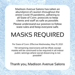 Masks Required!