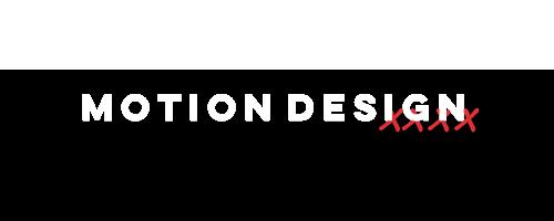 Início da seção de Motion Design